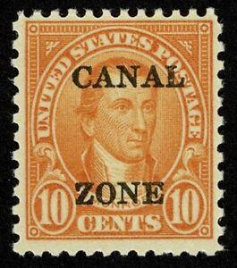 Scott#104 10c Canal Zone Mint NH OG Never Hinged