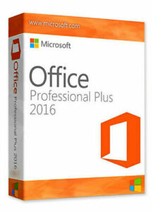 MS®OFFICE®2016 PROFESSIONAL PLUS 32/64-bit✔️License Key✔️Vollversion Lizenz✔️