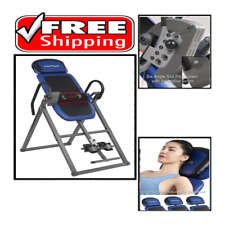 Advanced Heat and Massage Therapeutic Inversion Table 300 lbs weight capacity