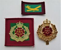 British Army Duke of Lancaster's Regiment Cap Badge & ID TRF Patches
