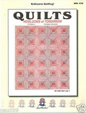 Aunt Martha's Quilts Heirlooms of Tomorrow 16 Patterns #3780
