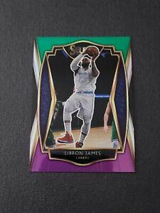 2020-21 Select Prizms Green White Purple #113 LeBron James