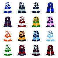 Beechfield - Stadium Scarf - Football Team Colours - 2 Colour Stripes