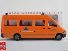 """Busch 47852 MB Sprinter (1995) """"catástrofes -/protección civil (DK)"""" 1:87/h0 nuevo/en el embalaje original"""
