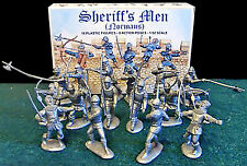 Barzso Sheriff's Men - unpainted 60mm soft plastic - original mint-boxed set