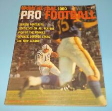 Pro Football All Stars 1960 Magazine MACO Colts Johnny Unitas