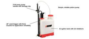 MS53BPE Genuine Echo 5 gallon, 90 PSI Backpack Sprayer, Piston Style Pump