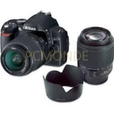 Nikon d40 DSLR Camera 18-55 mm 3.5-5.6g ED II AF-S DX + AF-S 55-200 mm 4-5.6g ED DX