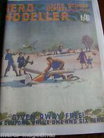 AEROMODELLER 1940 DECEMBER 61ST  ISSUE FACSIMILE MODEL AIRCRAFT AVIATION