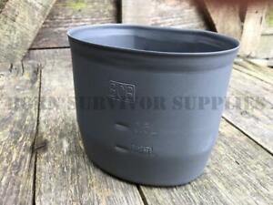 BCB CRUSADER MK2 METAL CUP Mug Fits British Army Water Bottle Survival Mess Set