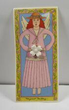 Margaret Furlong Dogwood Blossom Pin Bisque Porcelain 1998*