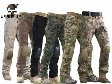 Tactical Pants with Knee Pads,  Gen2 Camping Hiking Hunting Trousers CP