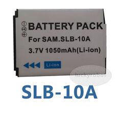 SLB-10A Battery for Samsung SL102 TL9 WB150F WB250F WB500 WB550 WB750 NV9