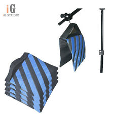 Heavy Duty Sand Bag for Photography Studio Video Light Stand x4 Black Blue