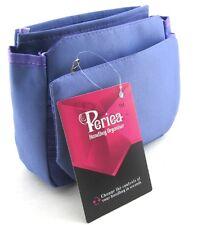 Periea Handbag Organiser, Insert, Liner 9 Pockets - Purple - Tegan