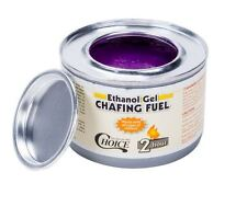 72 Ct Pack Catering, Buffet, Party, Restaurant Chafing Dish Ethanol Gel Can Fuel