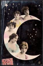 Cléo de Mérode à la Lune. 1907