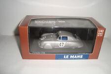 1:43 Minichamps Porsche 356 LE  MANS   1951   N°  47   RARE     RARE