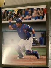 wilson contreras Signed 8x10 Photo Cubs