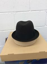 Vintage Authentic Taupe Brown 3X Beaver Quality STETSON Fedora NEVER WORN 7 6407691361b8