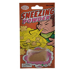 1X Trick Sneezing Powder Funny April Fool Joke Novelty Funny Gags Trick Toys  TO