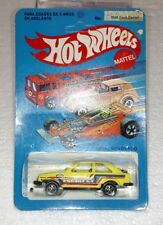 HOT WHEELS MEXICO FORD ESCORT YELLOW UNPUNCHED BRAND NEW