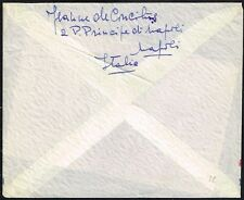 1536 ITALY TO PERU AIR MAIL COVER 1971 NAPOLI - LIMA