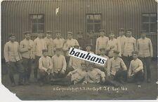 Foto Soldaten Infanterie-Regiment Hessen-Homburg Nr.166  (U207)