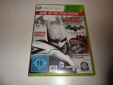 Xbox 360 Batman: Arkham City-Game of the year Edition