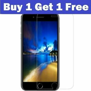 Screen Protector For iPhone SE 2 2020 7 6 6s 5 5s 8 Plus Gorilla Tempered Glass