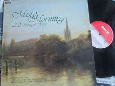 Misty Mornings -22 Songs Of Hope Ronco RTL 2066 Various ArtistUK Vinyl LP Album