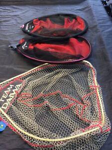 Daiwa Tournament,  Pellet mesh , Airity aqua dry landing nets x 3 match fishing