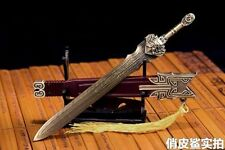 """1/6 Scale Ancient Weapon Metal Sword Model Collection Toy For 12"""" Action Figure"""