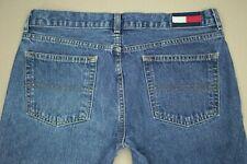 Tommy Hilfiger Roc Roc Authentic Hip Jeans Junior's Sz 9 Flag Logo Medium Wash