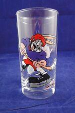 Bugs Bunny Ice Hockey Looney Tunes Smuckers Glass 1998