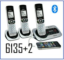 Uniden XDECT 6135BTU+2 XDECT Cordless Phone -Bluetooth (2 Additional Handsets)