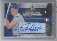 2005 Ultimate Signatures Ron Santo Autograph Chicago Cubs 59/99 HOF Upper Deck