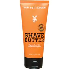 Van Der Hagen Shave Butter Soft Smooth Refresh No Razor & Skin Irritation 3.4oz
