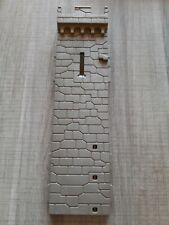 Playmobil tour mur droit avec meurtriere Gris Château  3667 4864 4865 4866