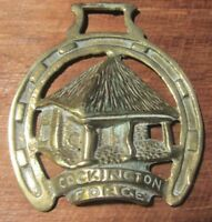 Vintage Horse Brass-Cockington Forge