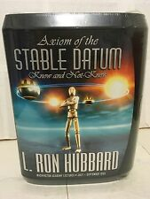 L Ron Hubbard Axiom of the Stable Datum Know and not Know Audio Book CD