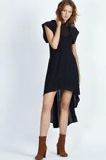 Asymmetrical Hem Solid Sundresses for Women
