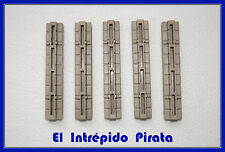 PLAYMOBIL - 5 Secciones Juntas triples Casa y Castillo Medieval Caballeros 3666