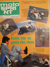 Motosprint 9 1978 con listino prezzi Moto 1978 - In sella a Laverda F500 [SC.31]