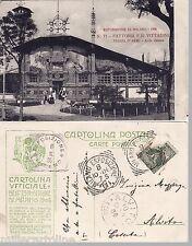 #MILANO ESPOSIZ. 1901 CART. FOTOGRAFICA- FATTORIA F.LLI VITTADINI-VIAGG.TIMBRO..