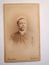 Greifswald - Landsmannschaft Silesia - 1891 - Hildebrand - CDV / Studentika