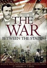 The War Between the States, New DVD, Abraham Lincoln, Jefferson Davis, Ulysses S