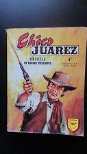 PETIT FORMAT BD ALBUM CHICO JUAREZ  660 AVEC N° 25 26 27 28 29 30 DE 1974