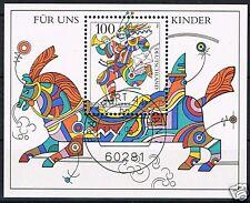"Block  35 EST Frankfurt, BRD 1996, ""Kunterbuntes Pferd"""