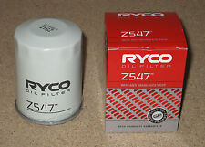 Z547 RYCO Oil Filter for HONDA Civic Accord Integra & NISSAN Pathfinder R51 D40